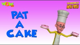 Pat A Cake - Motu Patlu Rhymes in English - Available Worldwide!