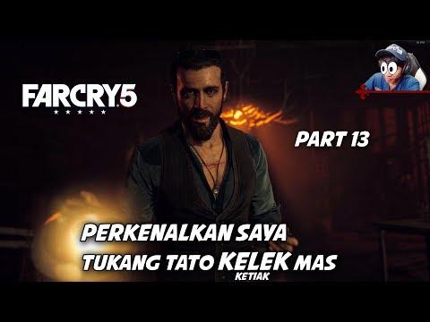 FAR CRY 5 #13 | DISEKAP DIPAKSA MAU DITATO GAMBAR KECOAK BUNTING | Indonesia