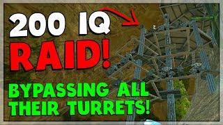 RAIDING TEK BASE IN THE MOST UNEXPECTED WAY EVER! - ARK Small Tribes PvP