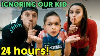 IGNORING Our KID For 24 HOURS!! **GONE WRONG** | The Royalty Family