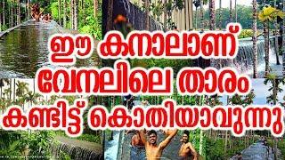 ഈ കനാലാണ് വേനലിലെ താരം കണ്ടിട്ട് കൊതിയാവുന്നു | Amazing Place In Kerala