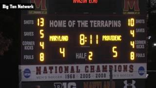 Men's Soccer vs. Maryland - Friars goals November 20th, 2016 NCAA Tournament