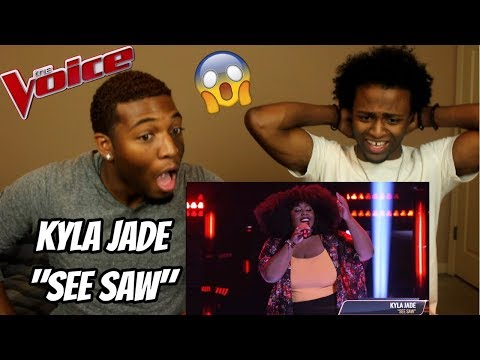"""The Voice 2018 Blind Audition - Kyla Jade: """"See Saw"""" (REACTION)"""