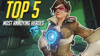 Overwatch: Top 5 Most ANNOYING Heroes & How to Counter Them