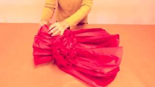 How to Make GIANT Tissue Paper Flowers   YouTube   Copy