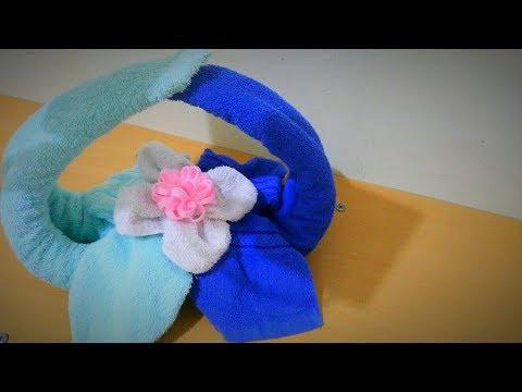 Xxx Mp4 Tutorial Menghias Hantaran Handuk Menjadi Keranjang Bunga How To Make Towel Flower Basket 3gp Sex