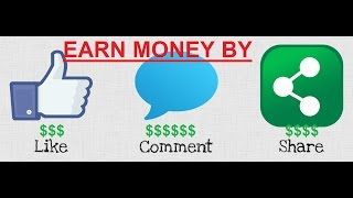 Earn Money by Just like,comment & Share $100 per day
