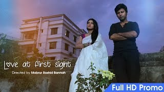 Love At First Sight | Promo | Tisha |  Nisho | Mabrur Rashid Bannah | Bangla Natok