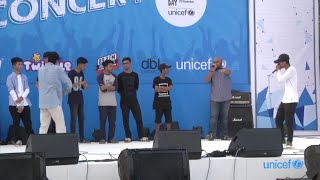 BLUE CONCERT 2018 | ব্লু কনসার্ট UNICEF BANGLADESH | LIVE AT DHAKA RESIDENTIAL MODEL COLLEGE