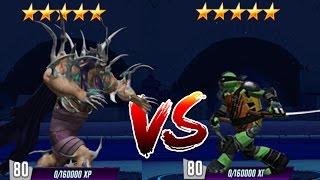 Teenage Mutant Ninja Turtles VS Power Rangers - Games Mashup