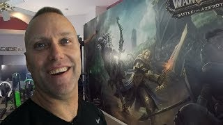Swifty Gaming House AMAZING New WoW Battle for Azeroth Mural Wallpaper Installation!