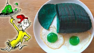 How To Make GREEN EGGS and HAM from Dr. Seuss!