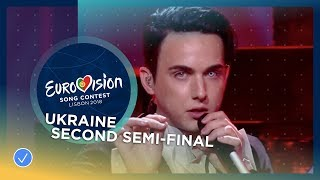MELOVIN - Under The Ladder - Ukraine - LIVE - Second Semi-Final - Eurovision 2018