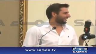 Most Funniest Scene of Shahid Afridi With Anwar Maqsood   Video Dailymotion