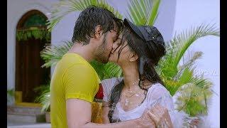 Abhi And Akhil Lip-Lock With Wet Clothes - Romantic Scene - Drushyakavyam Movie Scenes