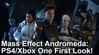 Mass Effect Andromeda: PS4 vs Xbox One Comparison + Frame-Rate Test