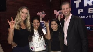 Latina Trolls Trump's Son With 'Secret' Message On Shirt