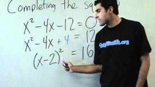 Algebra - Completing the square