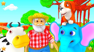 This Old Man | 3D Kindergarten Kids Songs | Baby Nursery Rhymes Collection by Little Treehouse