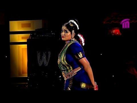 Kavya Madhavan performing Bharatanatyam Dance at Nishagandhi Festival (1)