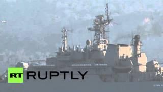 Turkey: Russian ship shadowed by Turkish sub as it passes through Bosphorus