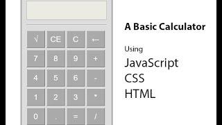 JavaScript Calculator Part 1 (Bangla)