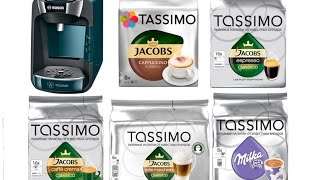 Кофеварка капсульного типа Bosch Tassimo SUNY TAS3205 + обзор капсул