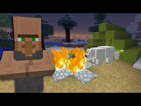 Minecraft Xbox: Camping Trouble [346]