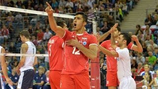 Iran defeats United States volleyball team in FIVB World Cup in Poland