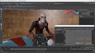 Animation Workflow in Maya 2018