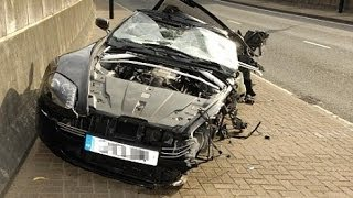 Accidentes Coche Carreras Ilegales 2013 - Derrape - Trompo -  Compilacion // Street Racing Fail comp