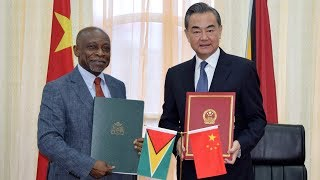 China, Guyana vow more cooperation under the Belt and Road Initiative
