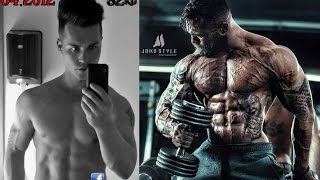 3 Years Body Transformation by Jil - Skinny to 3% Bodyfat Beast