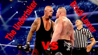 WWE Wrestlemania 30 - Brock Lesnar vs The Undertaker - WWE wreslemania at 6th April 2014