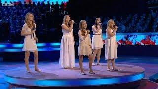 The Poppy Girls: Royal British Legion Festival of Remembrance 2013