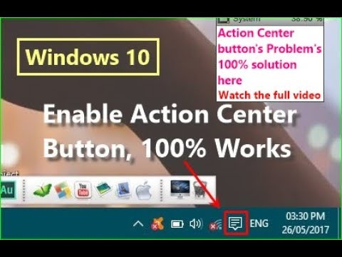 Xxx Mp4 Action Center Button Not Showing Solution Is Here 3gp Sex