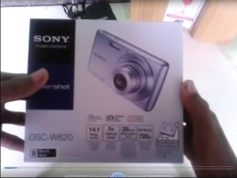 Unboxing SONY Cybershot DSC W620
