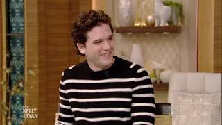 "Kit Harington Talks About Hosting ""Saturday Night Live"""