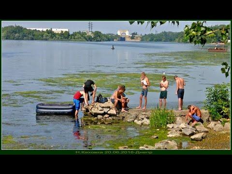 ловим летом на днепре видео