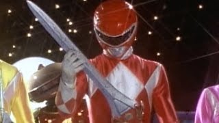 Power Rangers Weapons and Power Blaster First Battle (Mighty Morphin Power Rangers)