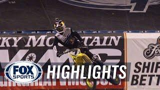 James Stewart Makes Incredible Comeback for 49th Win - Toronto Supercross 2014