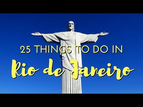 25 Things to do in Rio De Janeiro Brazil Travel Guide