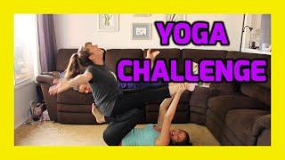 Yoga Challenge!!! (Ft. Mom)