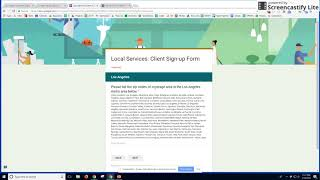 Google Local Services On-Boarding