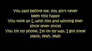 Khalid Ft. 6LACK & Ty Dolla Sign - OTW (Lyrics On Screen)