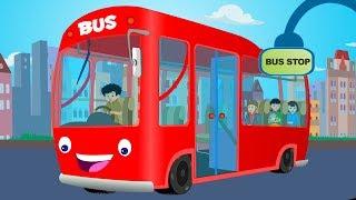 Wheels On The Bus   Nursery rhymes   Rhymes for children   Kids TV