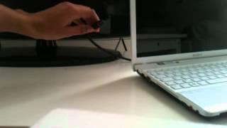 Brancher l'écran de son PC à la télévision:  Astuce ordinateur - Relier PC à TV
