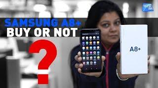 SAMSUNG A8+ Smartphone : REVIEW | Tech Tak