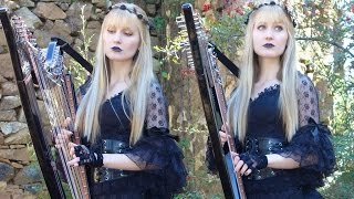 MEGADETH - A Tout le Monde (Harp Twins) Camille and Kennerly HARP METAL