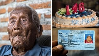 World's Oldest Man Mbah Goto celebrates what he claims to be his 146th birthday in Indonesia